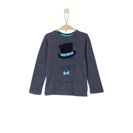 s.Oliver Boys Longlseeve dark blue knit
