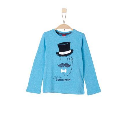 s.Oliver Boys Longsleeve aquamarin knit