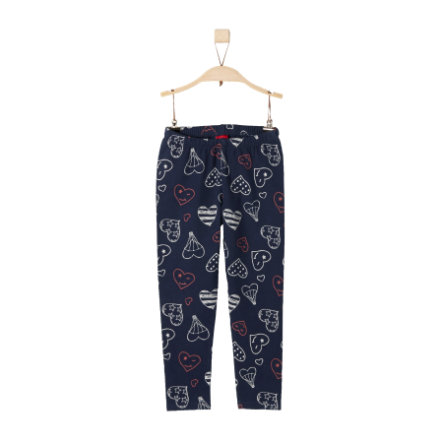 s.Oliver Girls Leggings dark blue