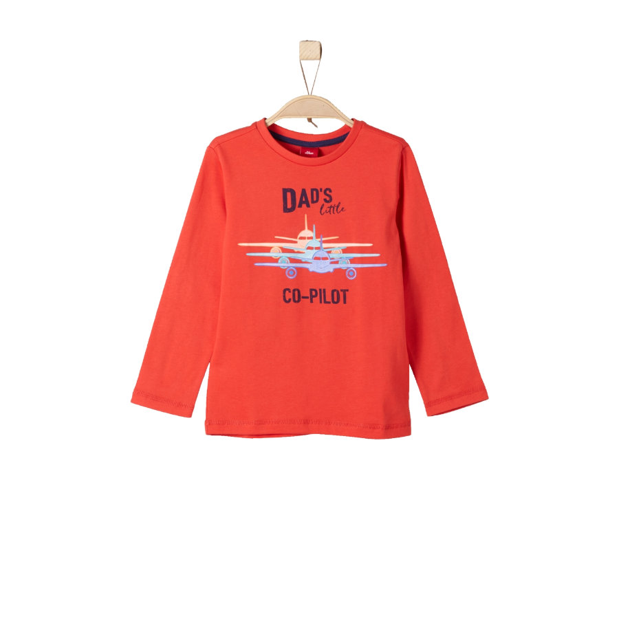 s.Oliver Boys Longsleeve red