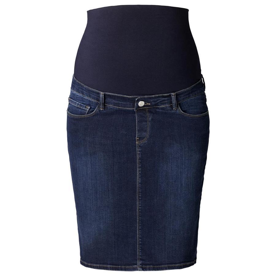 ESPRIT Těhotenská džínová sukně darkwash