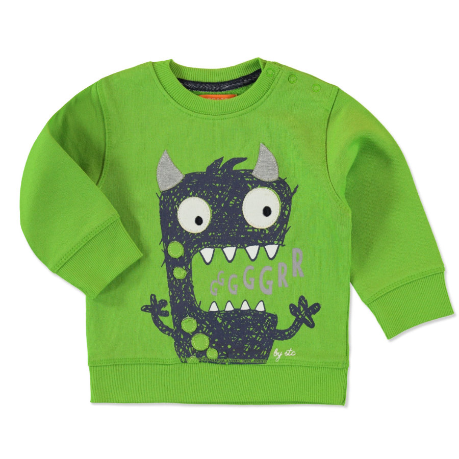 STACCATO Boys Sweatshirt dark lime Monster