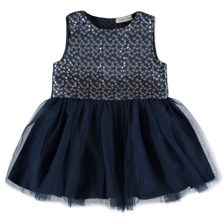 name it Girls Kleid Piluna dress blues
