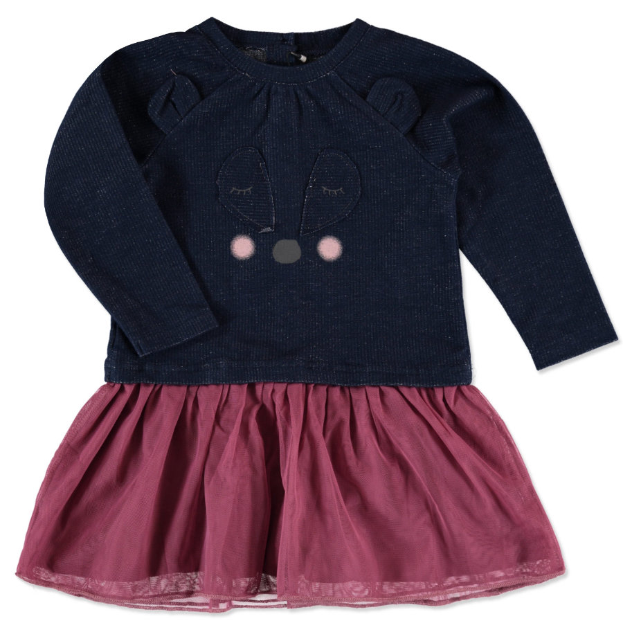 name it Girls Kleid Siw tibetan red