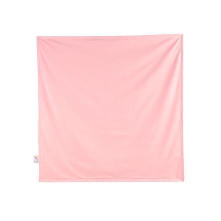 JULIUS ZÖLLNER Deken Jersey flamingo 70 x 70 cm