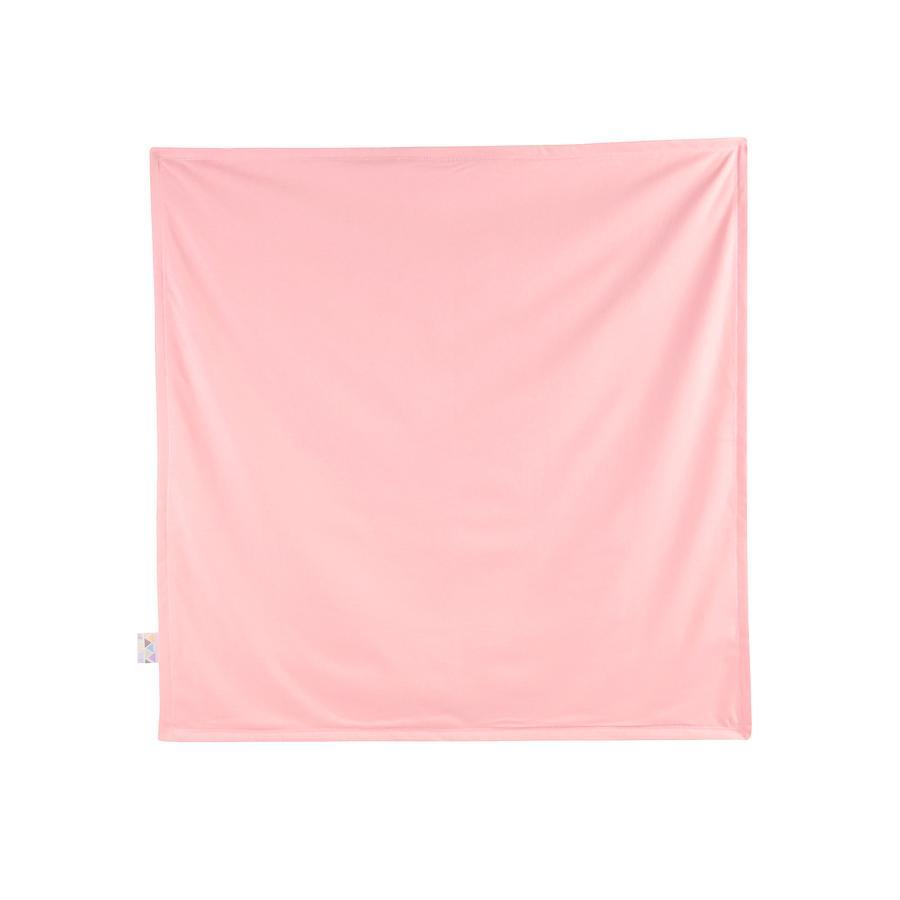 JULIUS ZÖLLNER Deken Jersey flamingo 120 x 120 cm