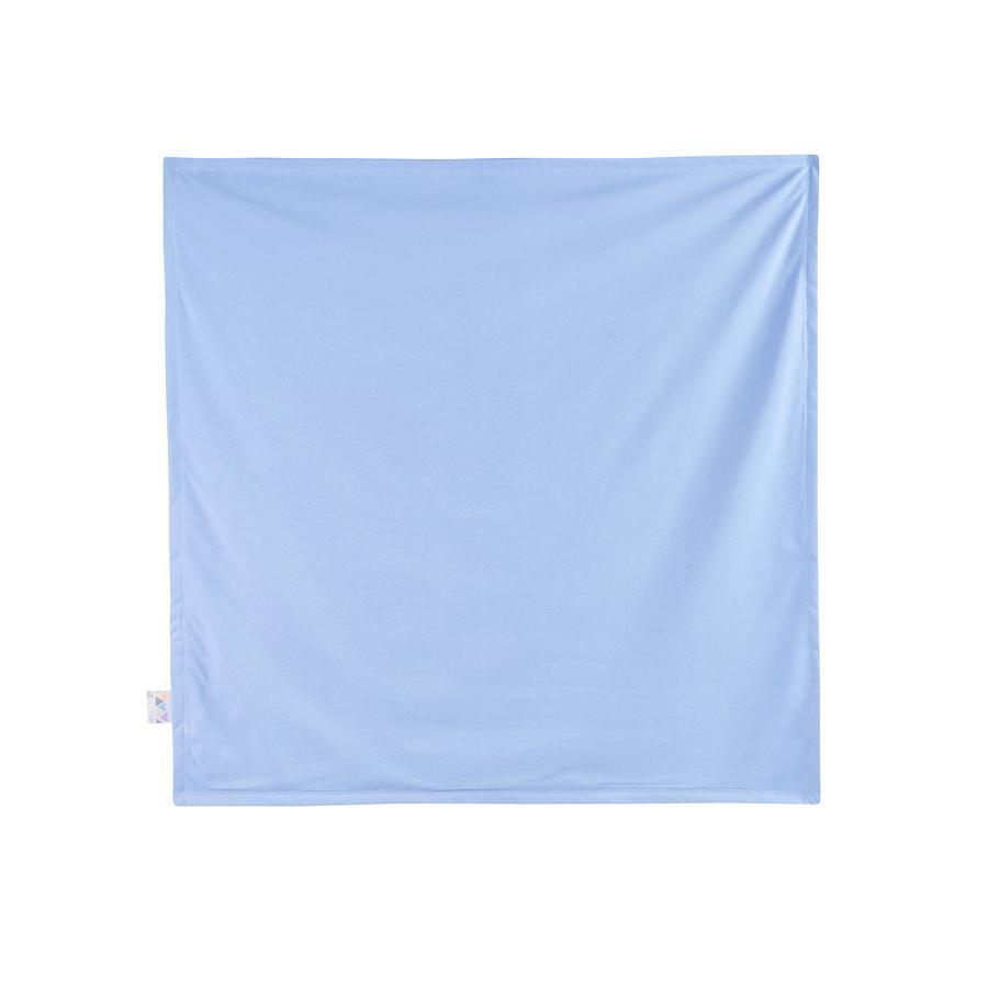 JULIUS ZÖLLNER Jersey koc blue 120 x 120 cm