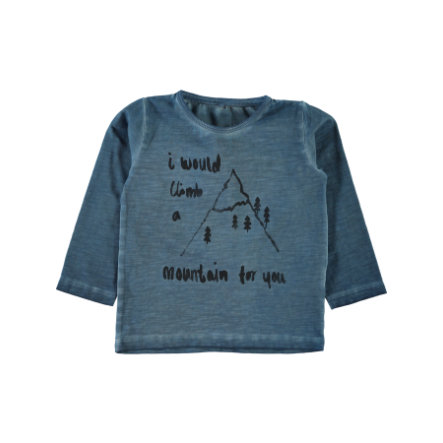 name it Boys Longsleeve Hibo ashley blue