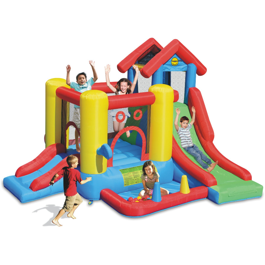 happyhop Bouncy castle - Playcenter 7 in 1