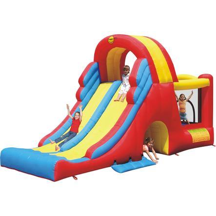 happyhop Château gonflable - Mega Slide