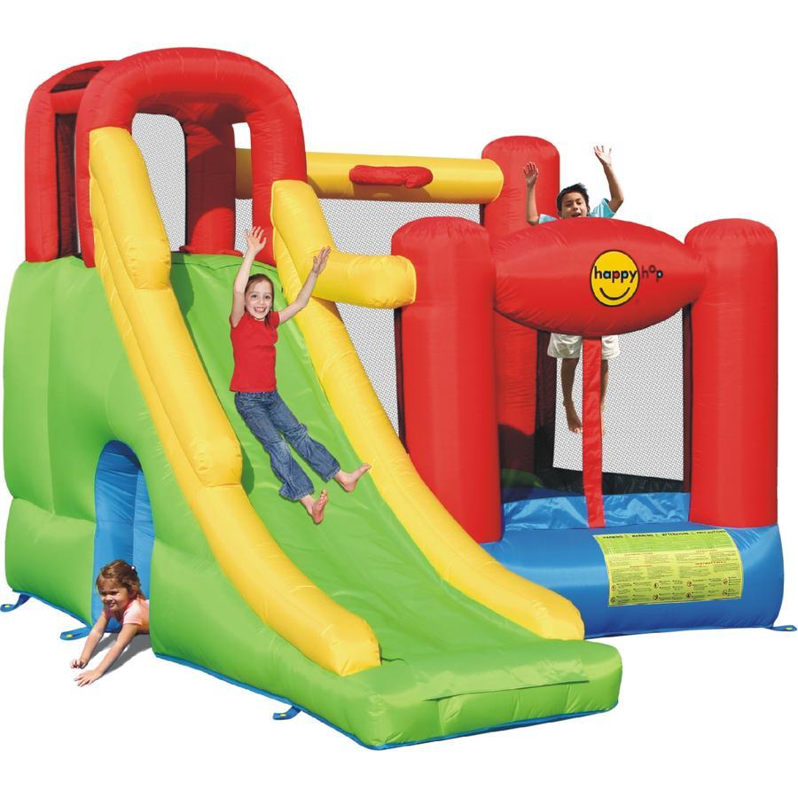 happyhop Dmuchany zamek - Play Center 6 in 1