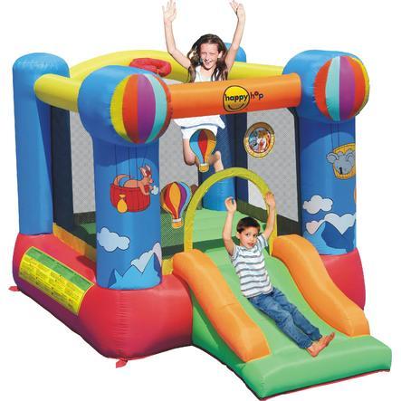 happyhop Bouncy Castle - Balloon Skippy se skluzavkou