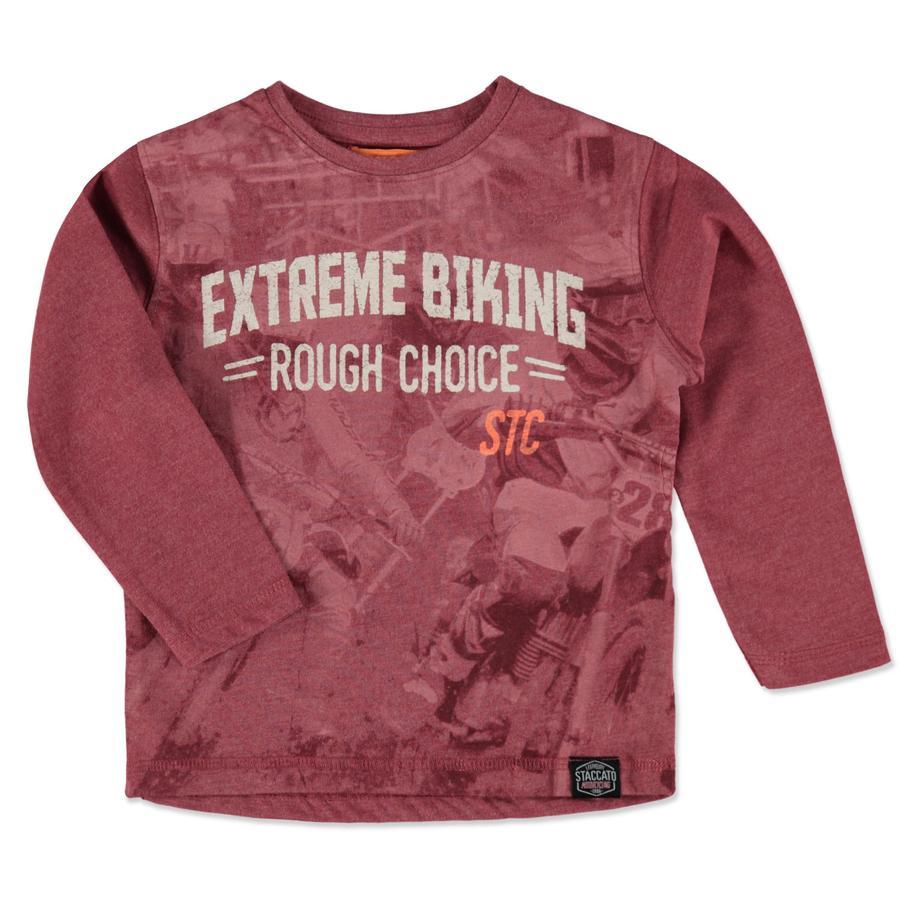 STACCATO Boys Shirt rood melange
