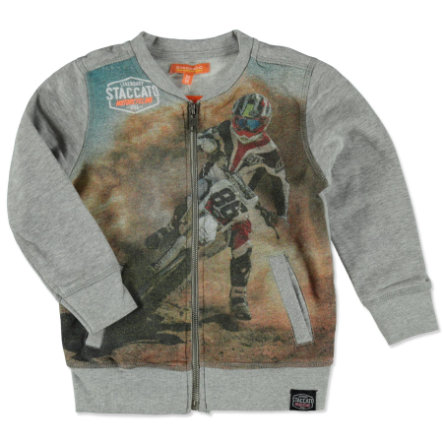 STACCATO Boys Sweatjacke grey melange
