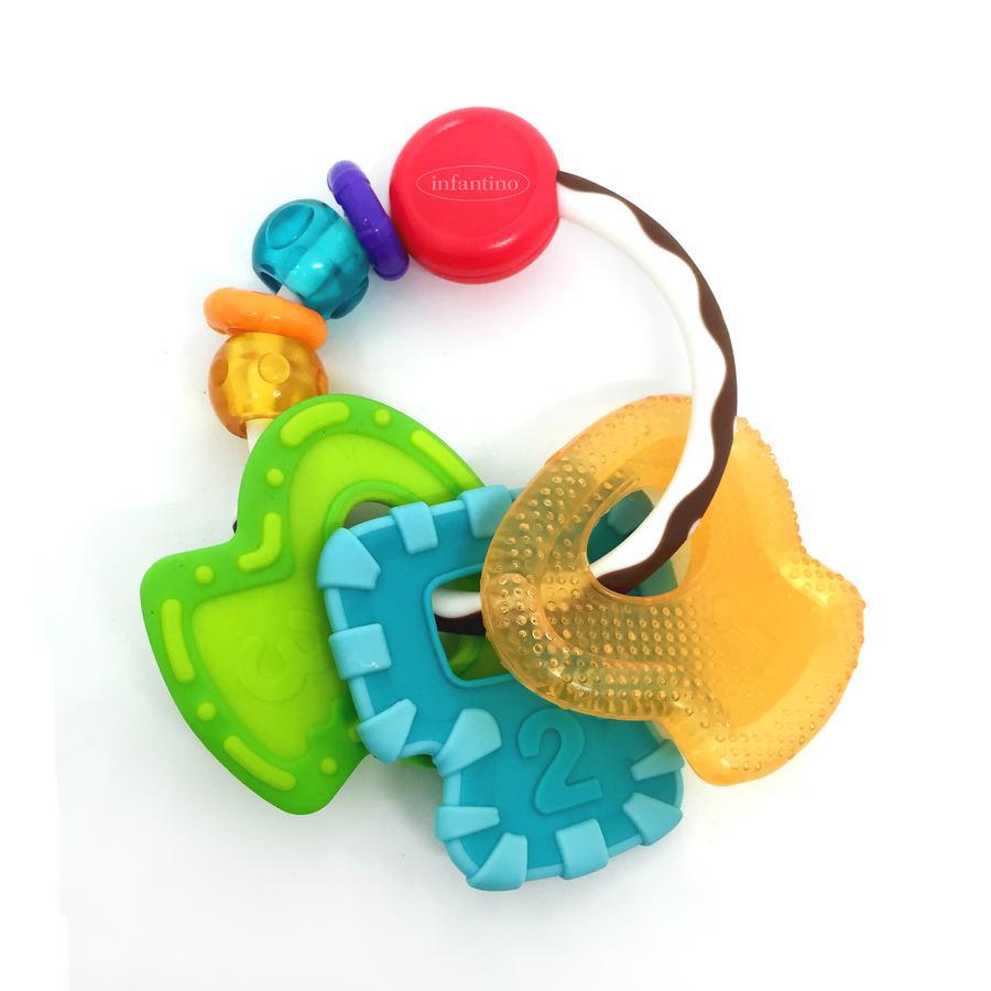 Infantino Anneau de dentition multi matière