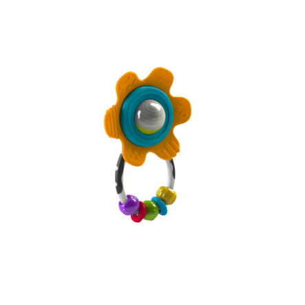 B kids® Shake & Teethe Gummy Flower Rattle