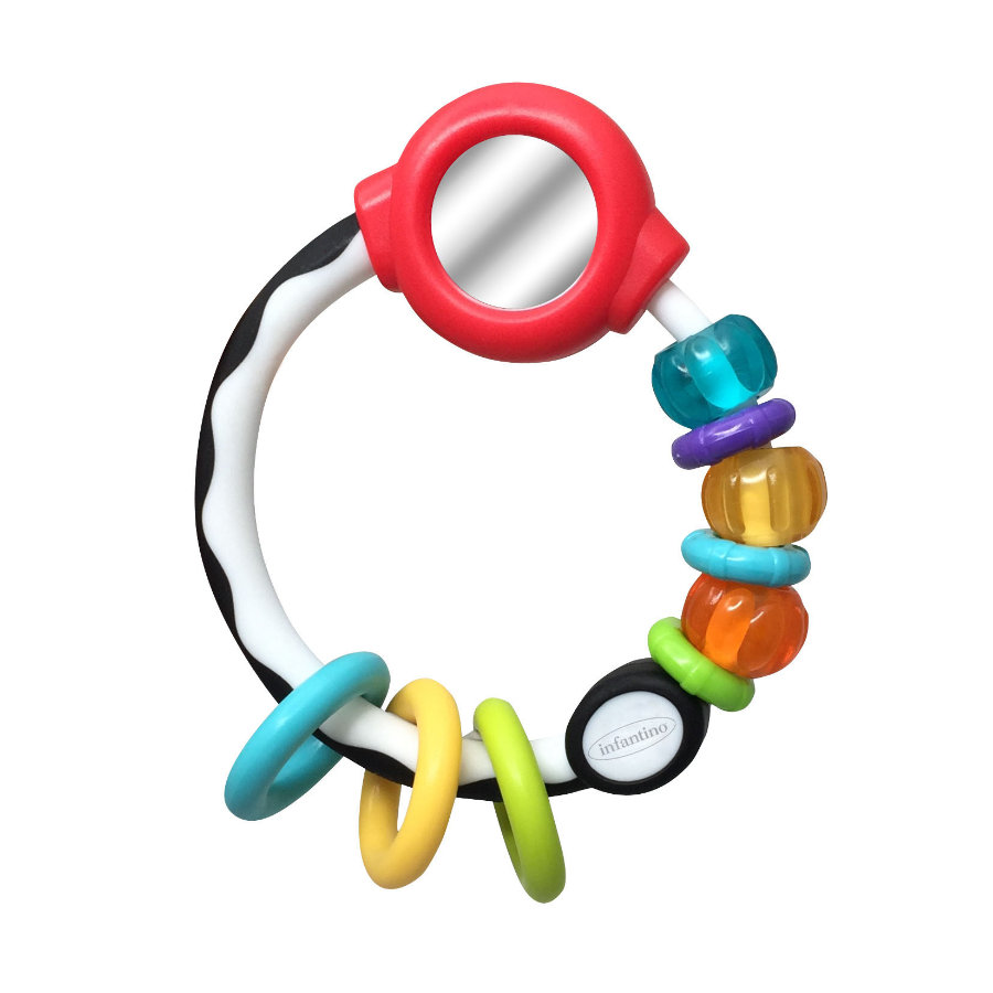 Infantino B kids® Mirror Ring Rattle