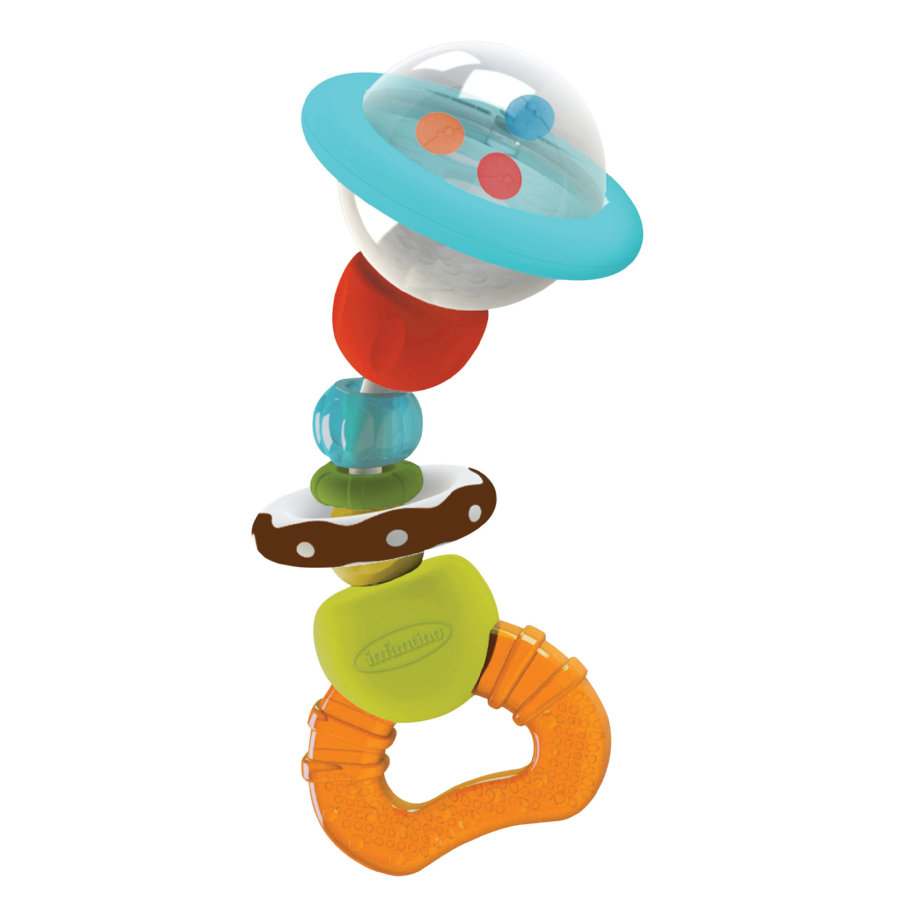 B kids® Shake & Bend Water Rattle Teether
