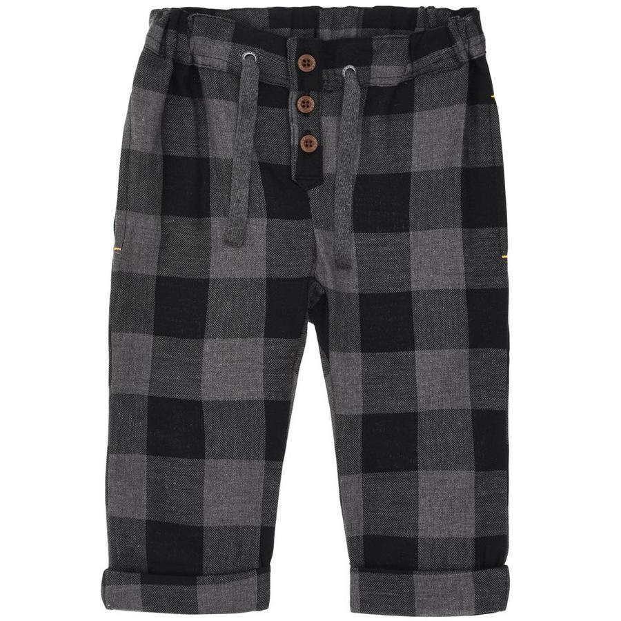 name it Pantalon Boys Para gris foncé mélangé