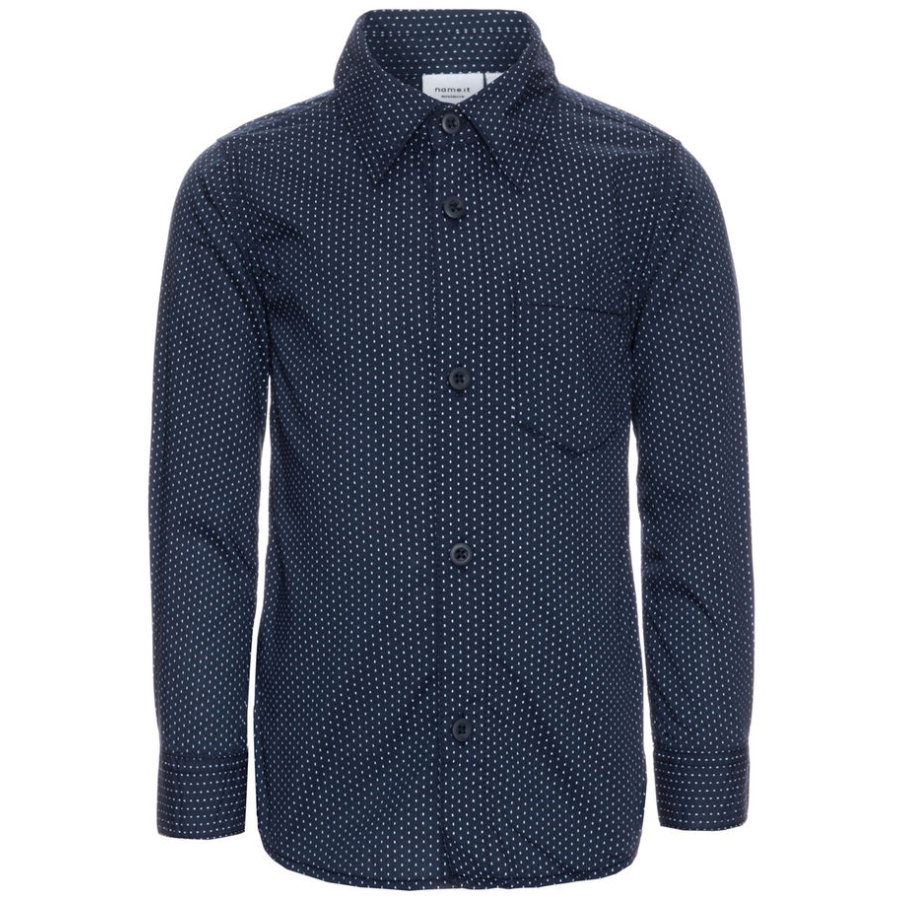 name it Boys Hemd Oliver dress blues
