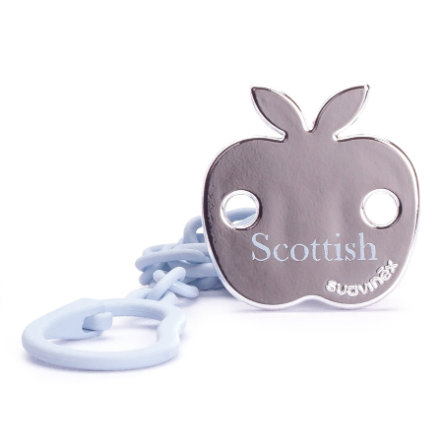 suavinex Schnullerkette Scottish Apfel blau