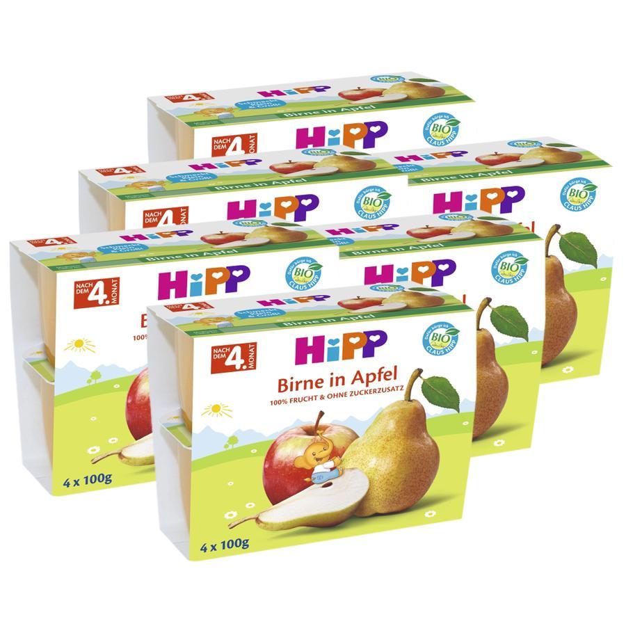 HiPP Frucht Pause Birne in Apfel 24 x 100 g