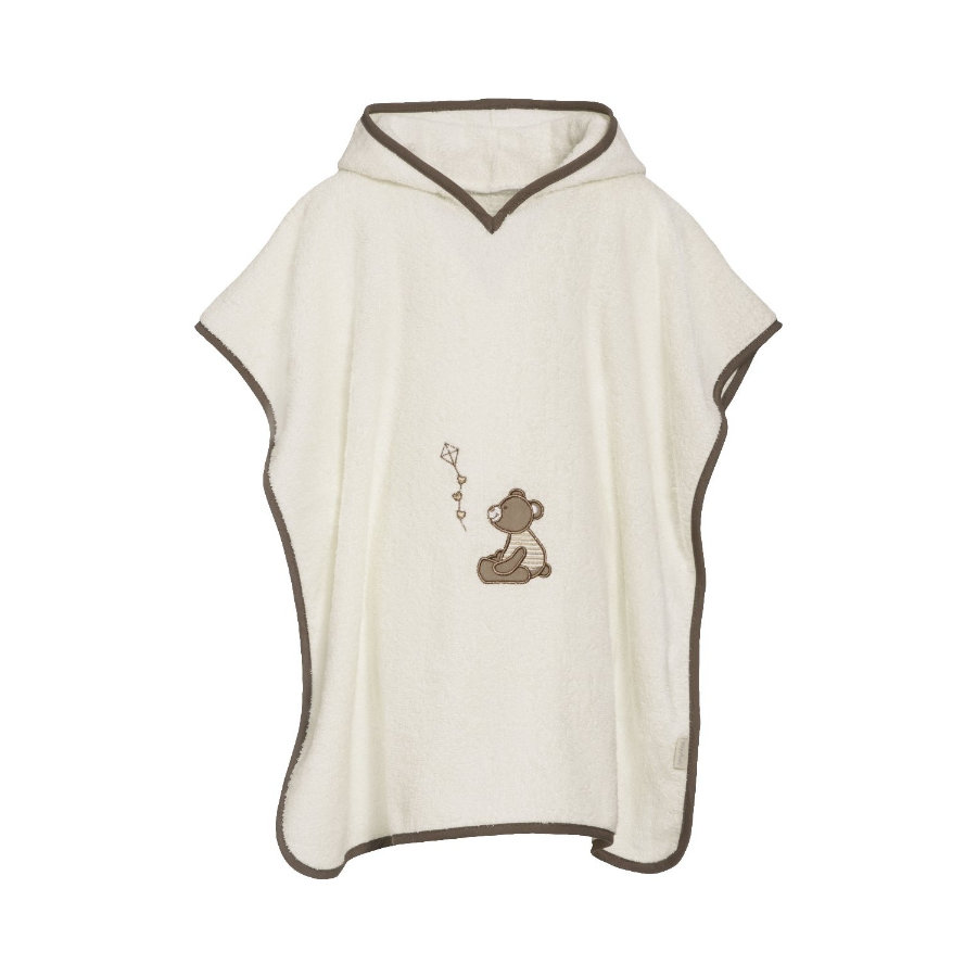 Playshoes Frotte-Poncho Bär