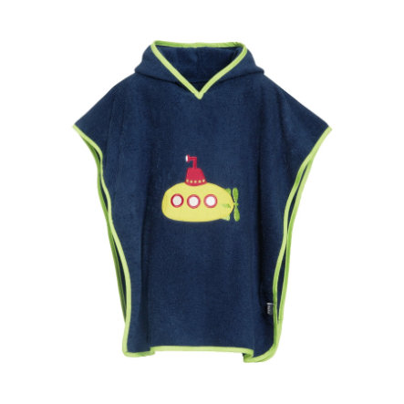 Playshoes Frotte-Poncho U-Boot