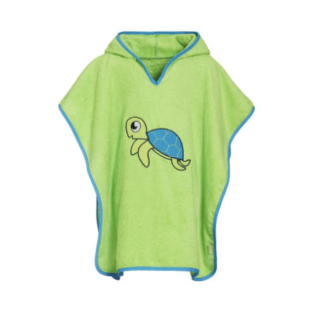 Playshoes Frotte-Poncho Schildkröte