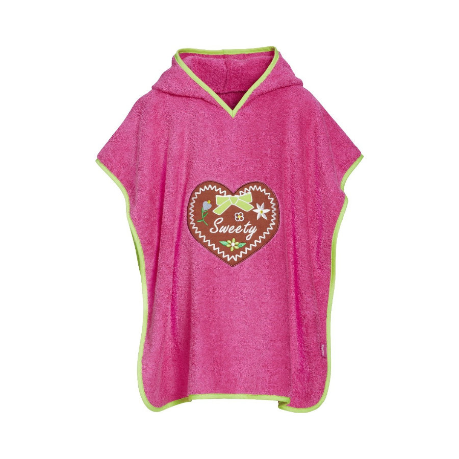 Playshoes Frotte-Poncho Sweety