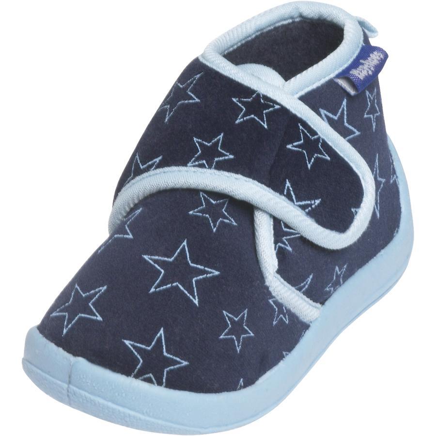 Playshoes Pantoufles Bleu pastel