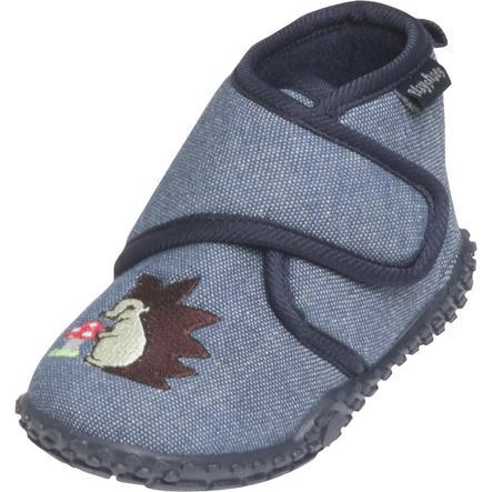 Playshoes domácí obuv se suchým zipem, ježek