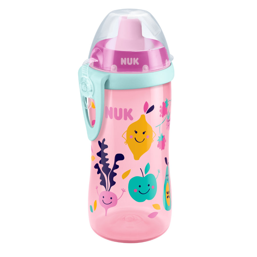 NUK Trinkflasche Flexi Cup 300 ml Obst