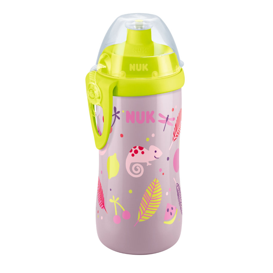 NUN Biberon Junior Cup 300 ml fantasia: camaleonte