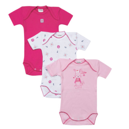 absorba Girls Bodies 3-er Pack pink/weiß