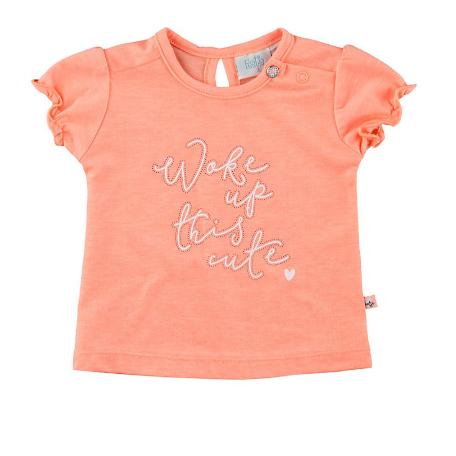 Feetje Girl T-Shirt pomarańczowy