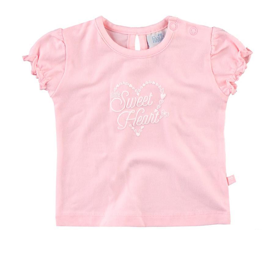 Feetje Girl s T-Shirt heart rosé (serce różowe)