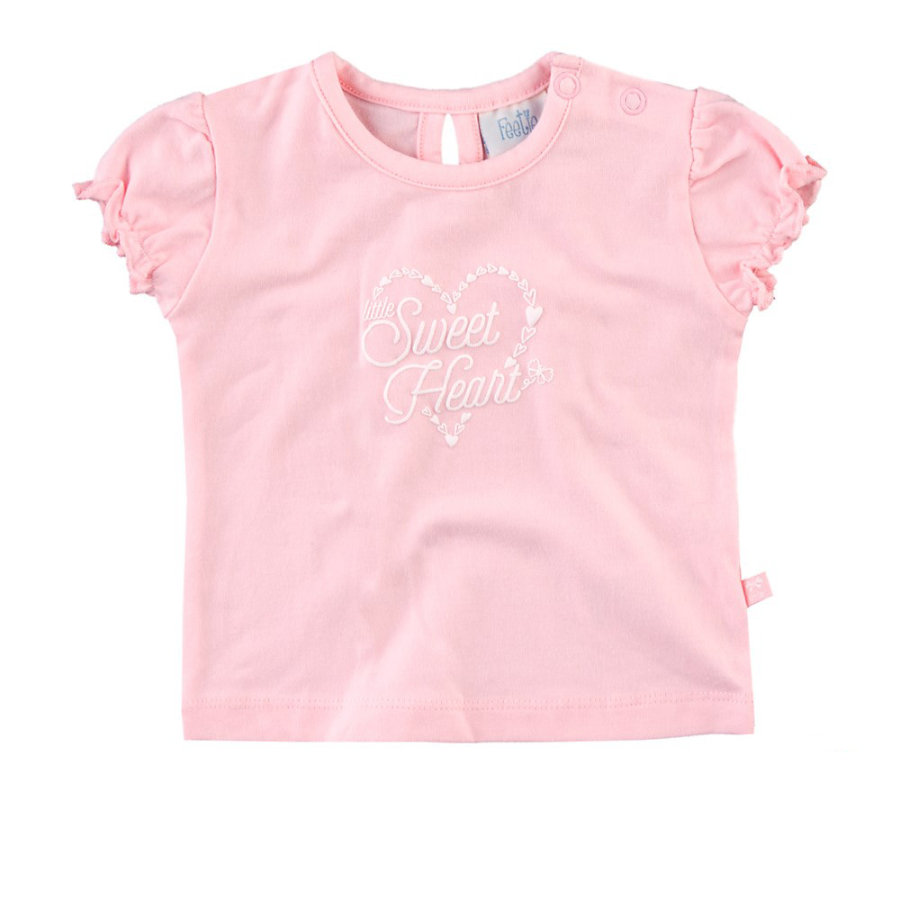 Feetje Girls T-Shirt Herz rosé