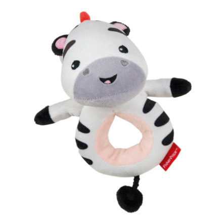 Fisher-Price® Hračka do ruky zebra