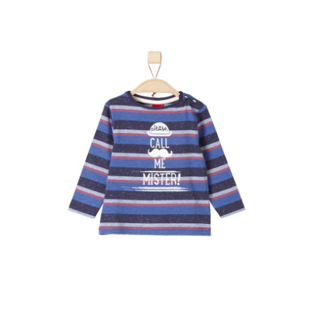 s.Oliver Boys Longlseeve blue multicolored stripes
