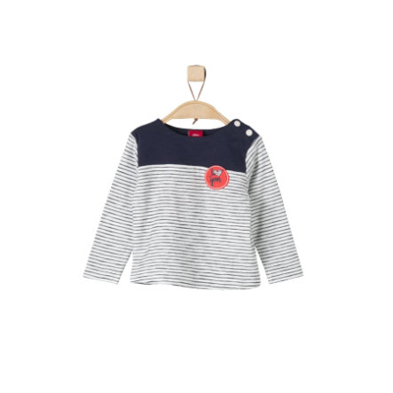 s.Oliver Girls Longsleeve ecru stripes