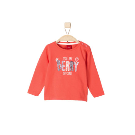 s.Oliver Girls Longsleeve red