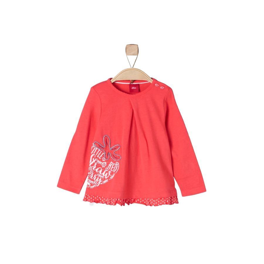 s.Oliver Girls Longsleeve red