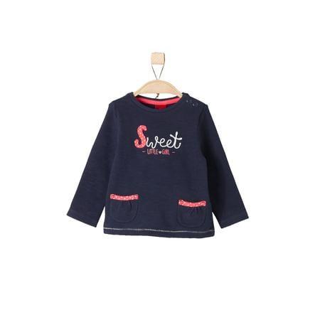 s.Oliver Girl Sweatshirt granatowy, ciemnoniebieski.