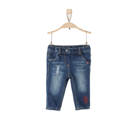 s.Oliver Jeans blue denim stretch