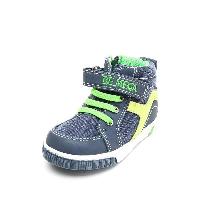 Bądź Mega Boys Sneaker, niebiesko-zielony.