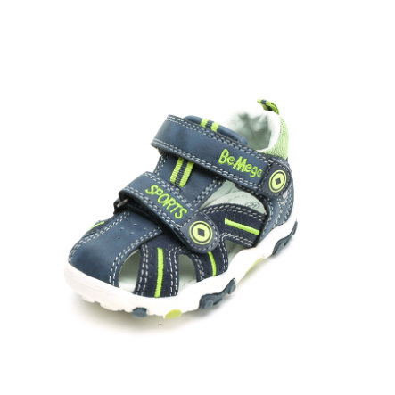 Be Mega Boys Sandale navy-lime
