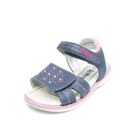 Be Mega Girl 's Sandal Navy Sandal.