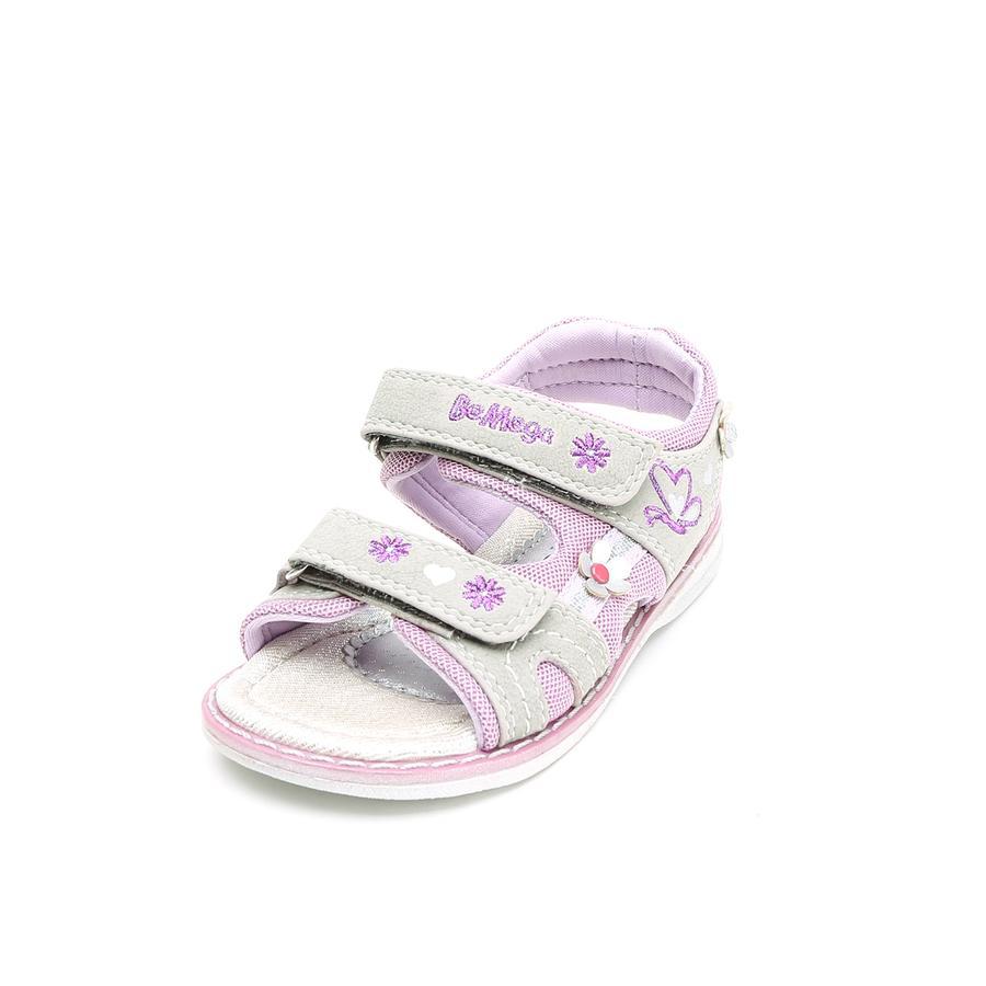 Be Mega Girl s Sandale gris