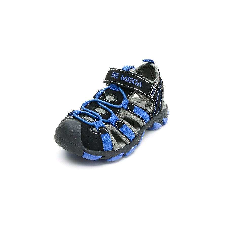 Be Mega Boys Sandaler black-royal